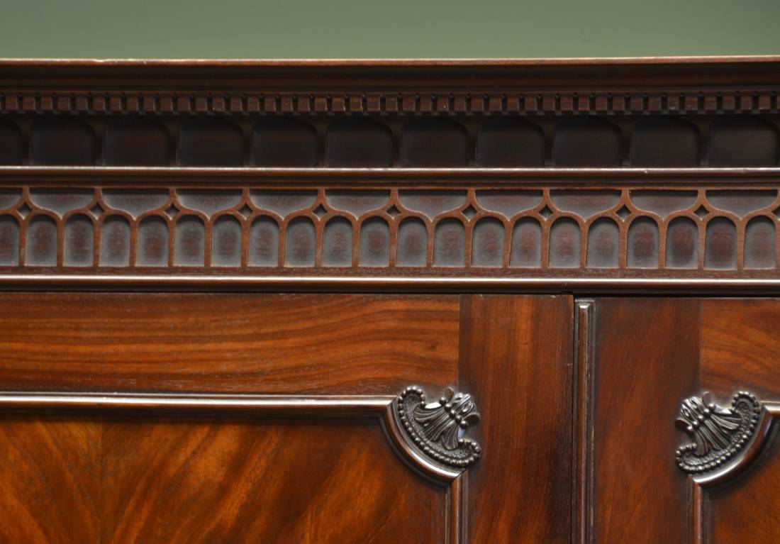 Period Linen Press mouldings and carvings