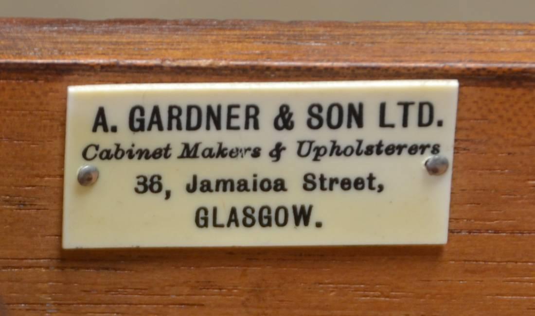 A Gardner & Son Glasgow