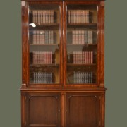Magnificent Huge Beautifully Figured Mahogany William IV Antique Library Bookcase