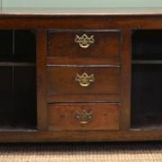 Georgian Period Oak Antique Country Dresser Base