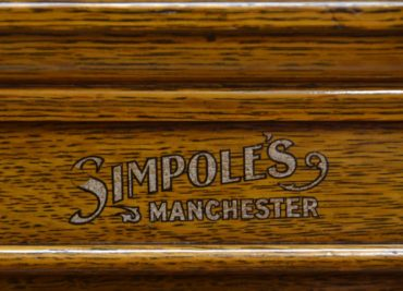 Stunning Antique Golden Oak Antique Edwardian Wellington Chest by Simpoles of Manchester