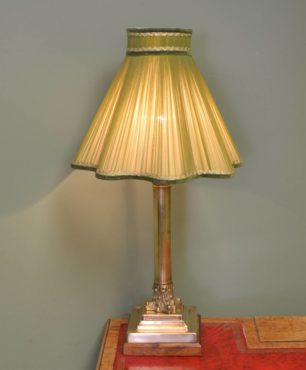 Solid Brass Antique Lamp Base