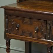 Large Quality Victorian Antique Oak Dresser