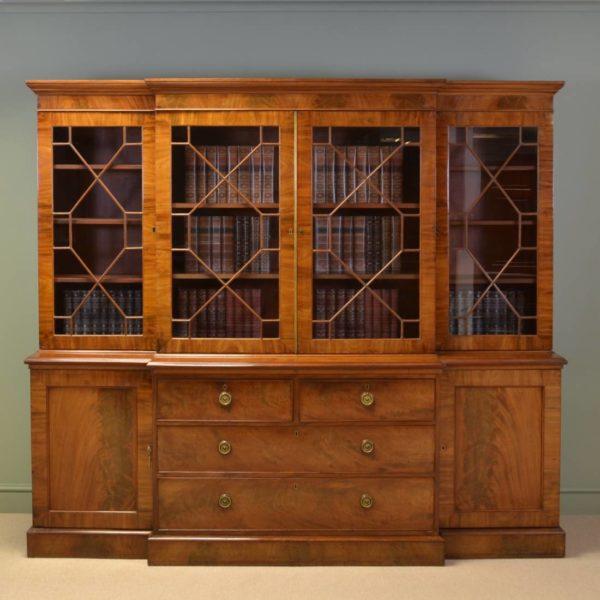 Mahogany Georgian Bookcase
