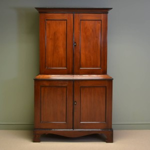 Quality Victorian Antique Padouk Cabinet / Cupboard