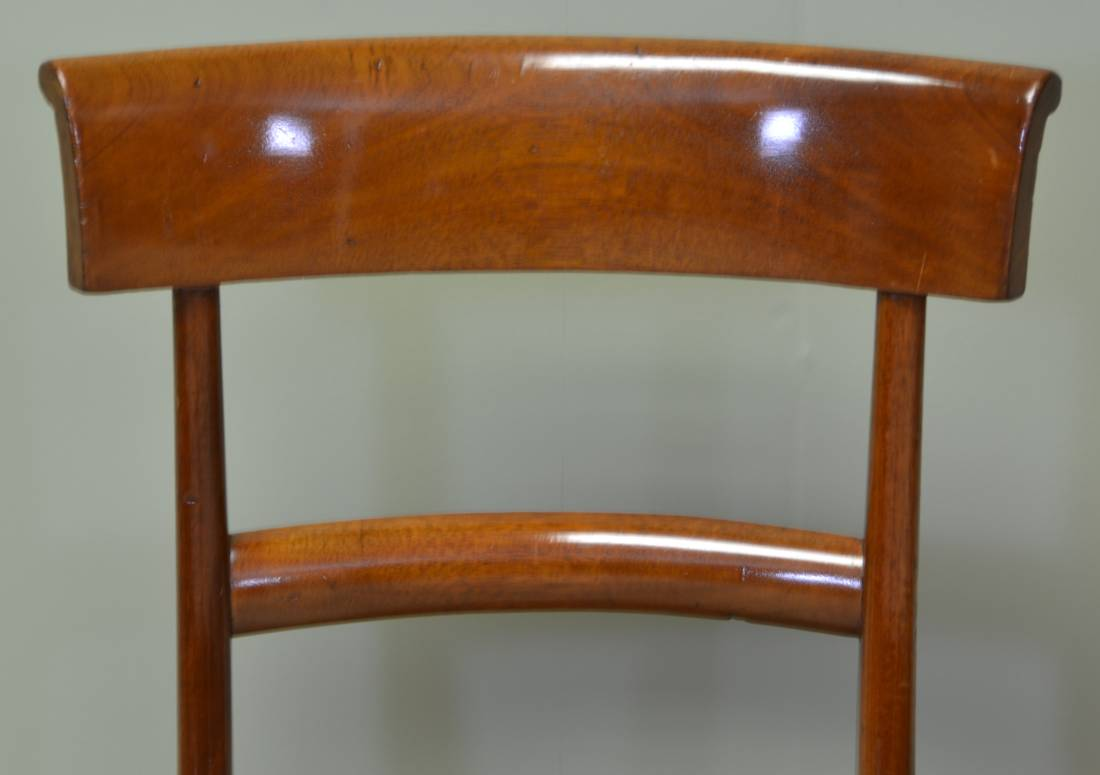 Elegant antique victorian bar back antique mahogany dining chairs antiques world - Vintage pieces of furniture old times elegance ...
