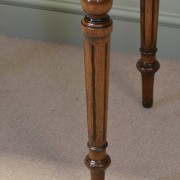 Arts And Crafts Golden Oak Victorian Antique Writing Table