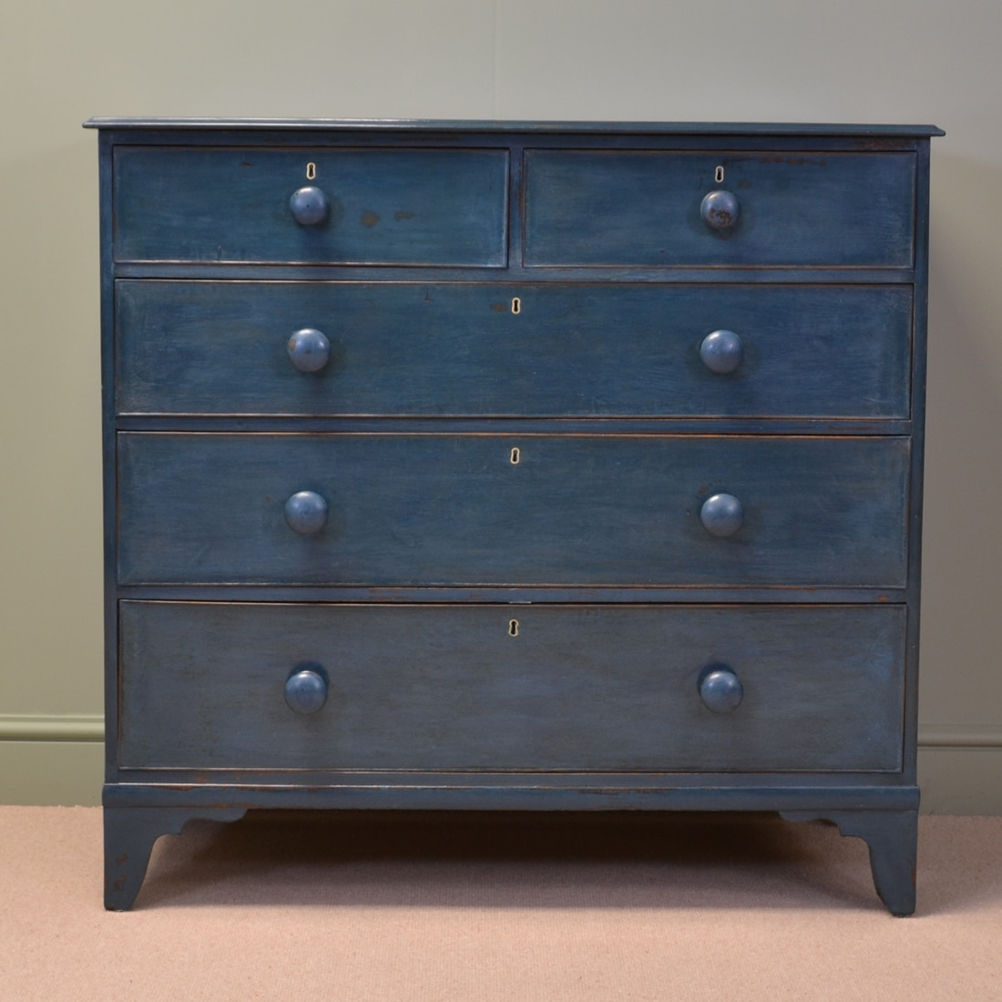 Late 18th Century Painted Antique Chest