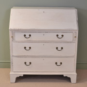Painted Country Georgian Antique Bureau