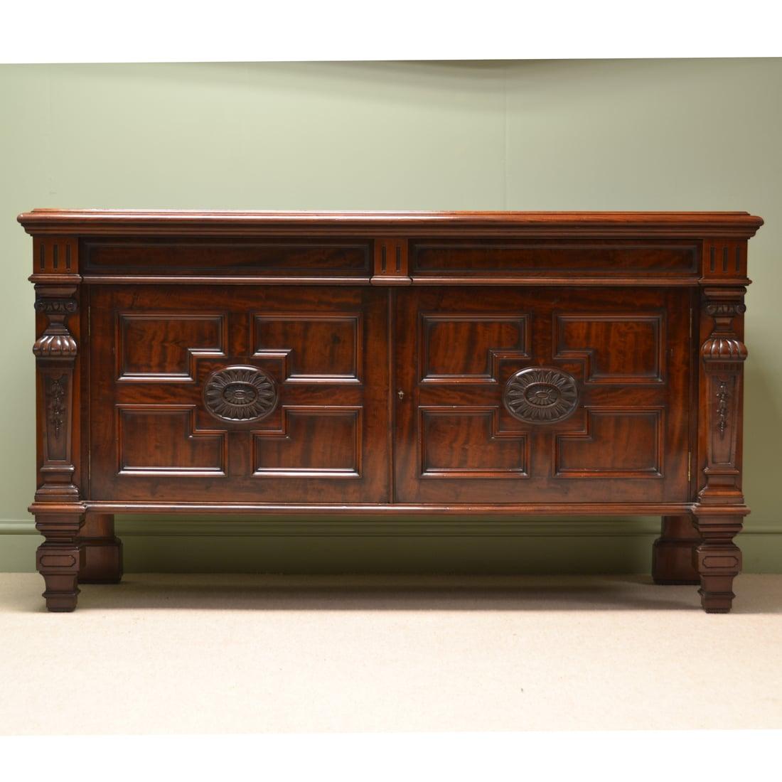 Antique Vintage Furniture: Maple & Co Antique Furniture