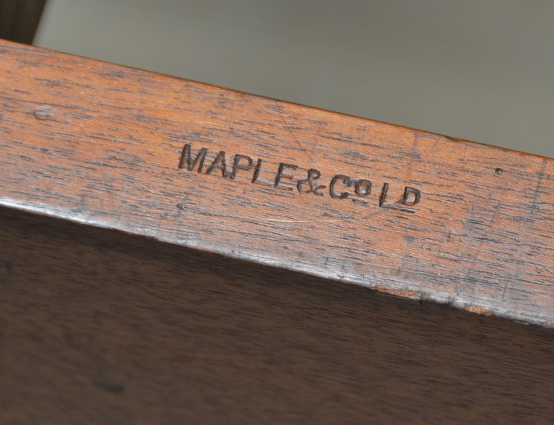 Spectacular Golden Oak Maple & Co Victorian Antique Extending Dining Table