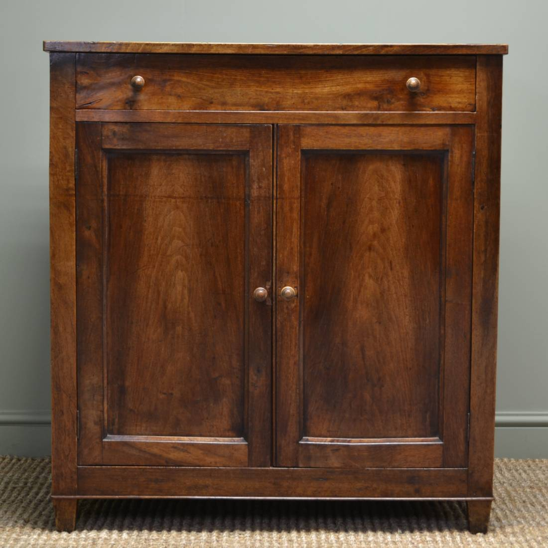French Country Cherry Wood Antique Cupboard Antiques World