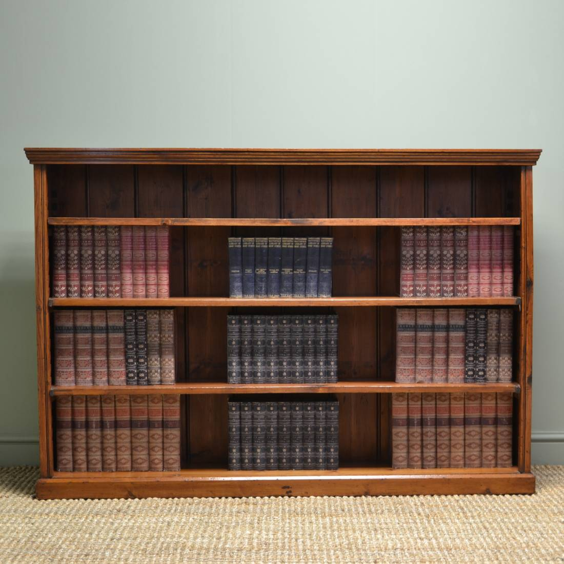 #965C35 Large Victorian Antique Open Bookcase Antiques World with 1100x1100 px of Brand New Large Antique Open Bookcase 11001100 pic @ avoidforclosure.info
