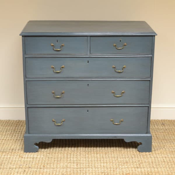 Georgian Painted Antique Chest Of Drawers