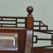 Quality Edwardian Walnut Antique Writing Desk