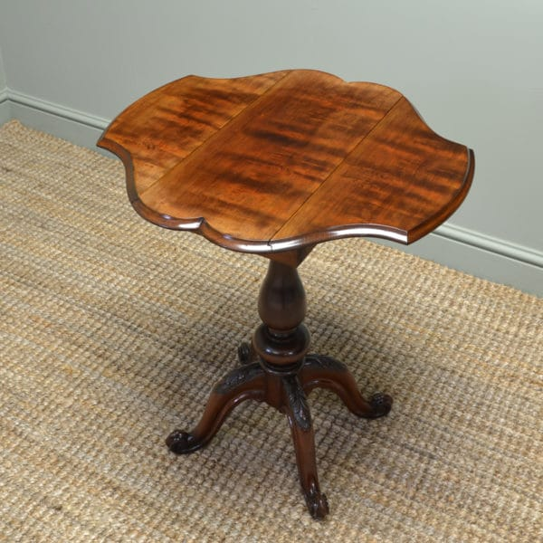 Quality Rich Mahogany Antique Side / Small Sofa Table
