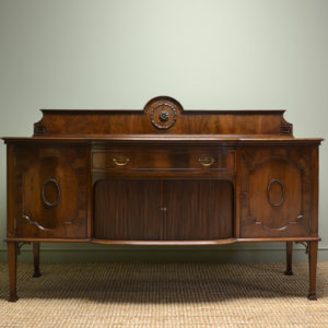 Large Edwardian Mahogany Antique Sideboard by Allen & Appleyard