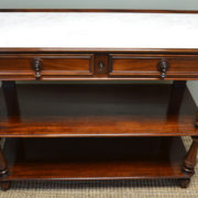 Quality Victorian Mahogany Antique Side Server / Buffet