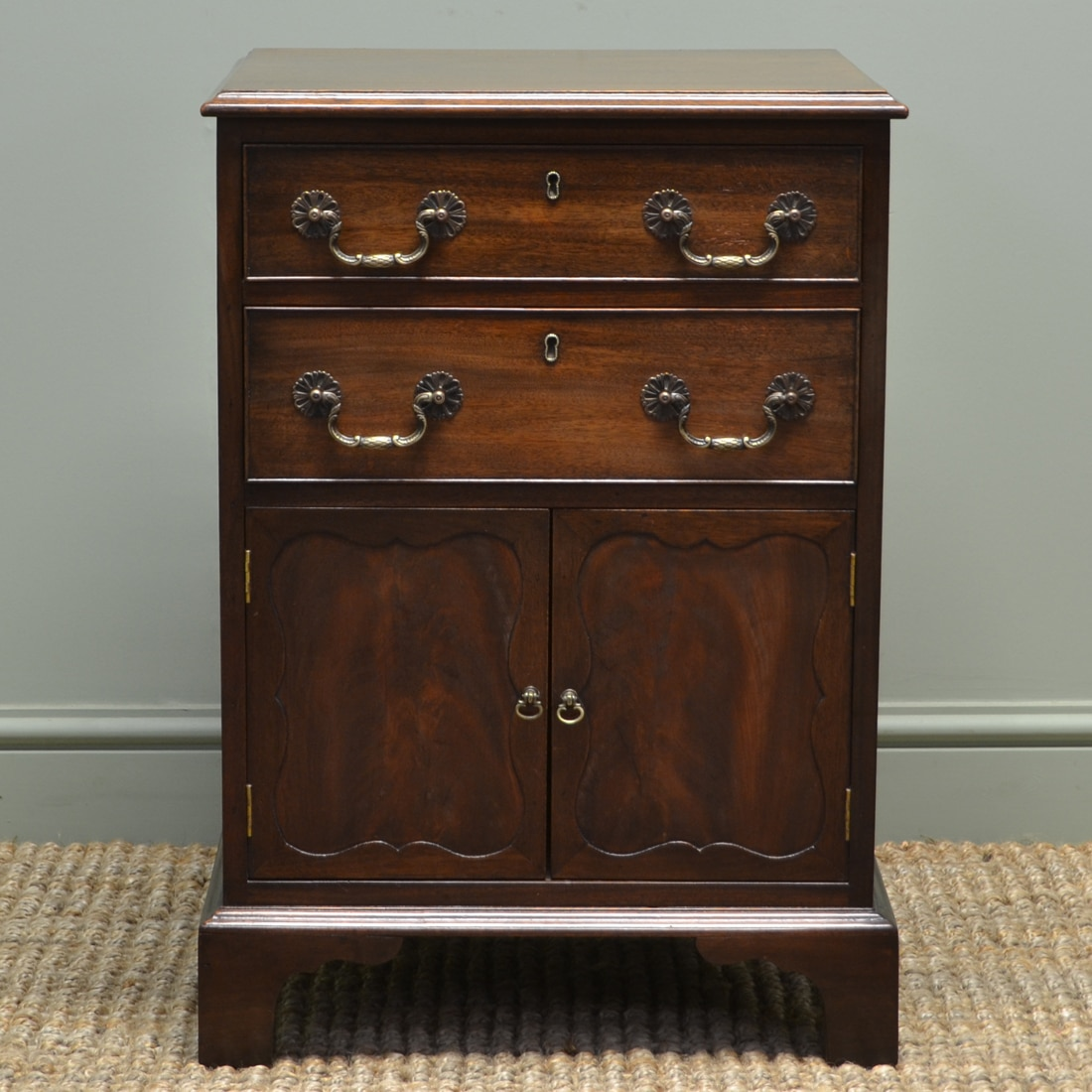 Small Mahogany Edwardian Antique Cabinet Antiques World