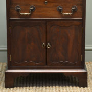 Small Mahogany Edwardian Antique Cabinet