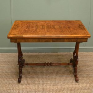 Antique Games / Card Table