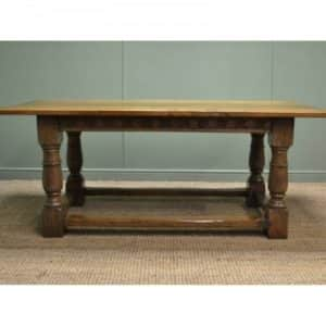 Antique Oak Refectory Dining Table