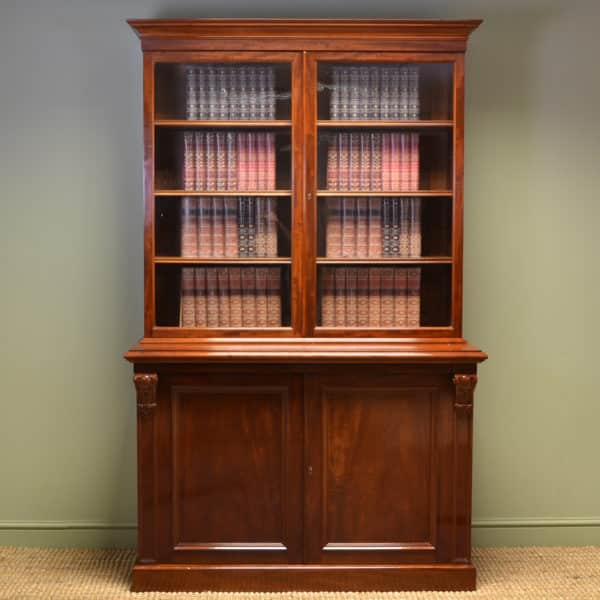 Victorian Antique Bookcases