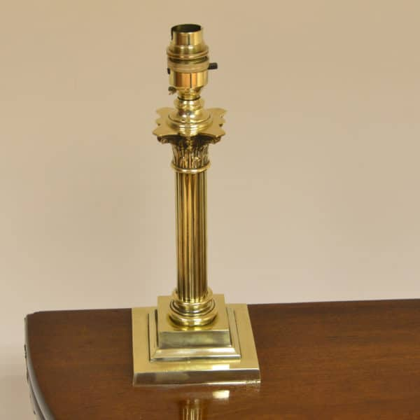 Small Vintage Brass Lamp
