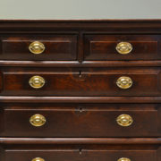 17th Century Period Oak Antique Chest Of Drawers