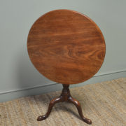 Beautiful Country Georgian Mahogany Antique Occasional / Lamp Table