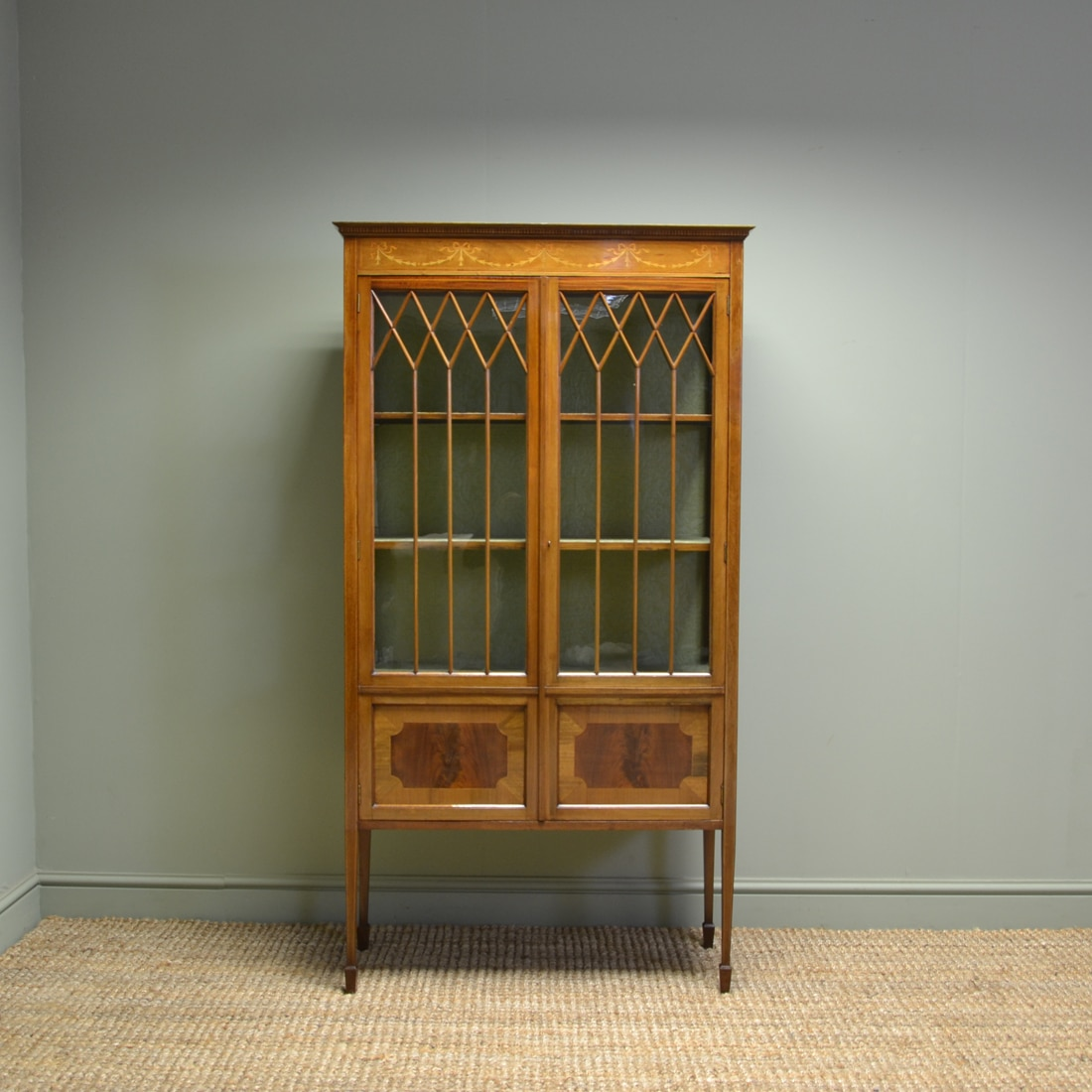 Antique display cabinets uk antique furniture for Antique display cabinet