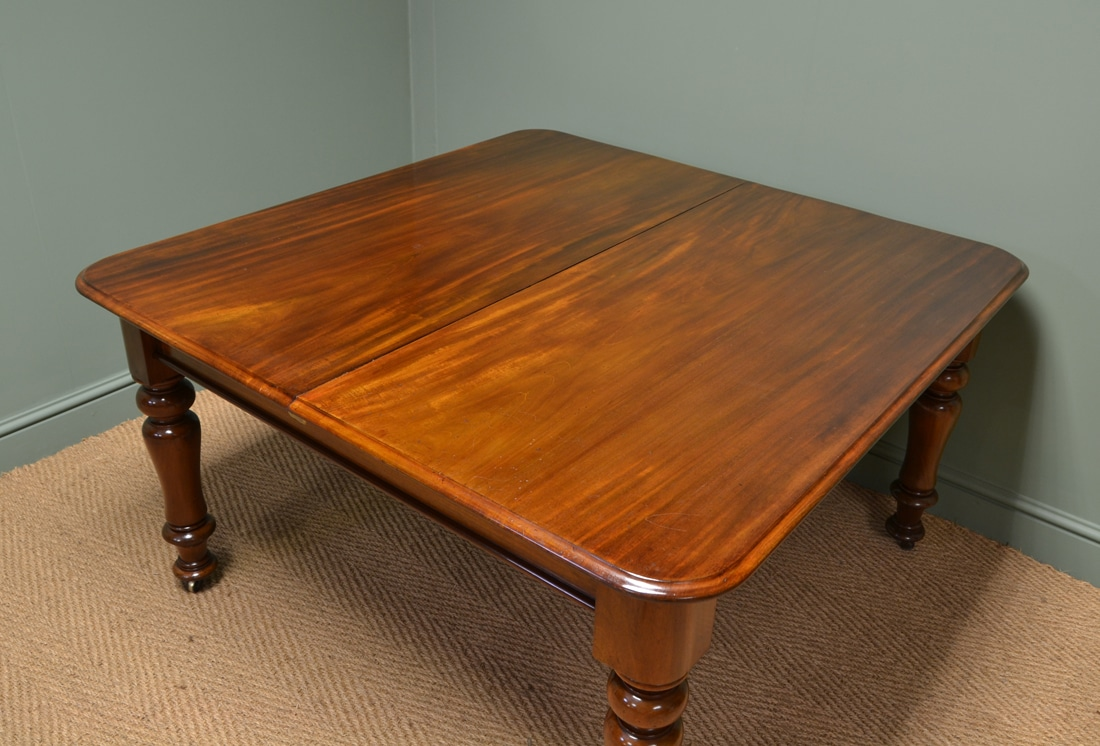 Quality Early Victorian Antique Mahogany Extending Dining  : 61945 from antiquesworld.co.uk size 1100 x 746 jpeg 599kB