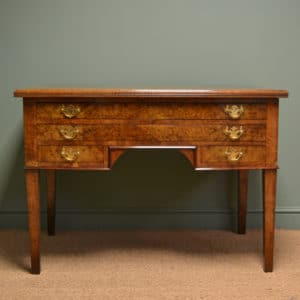 Rare Large Pollard Oak Victorian Antique Architects Desk