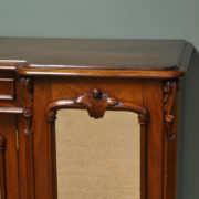Spectacular Victorian Mahogany Antique Sideboard
