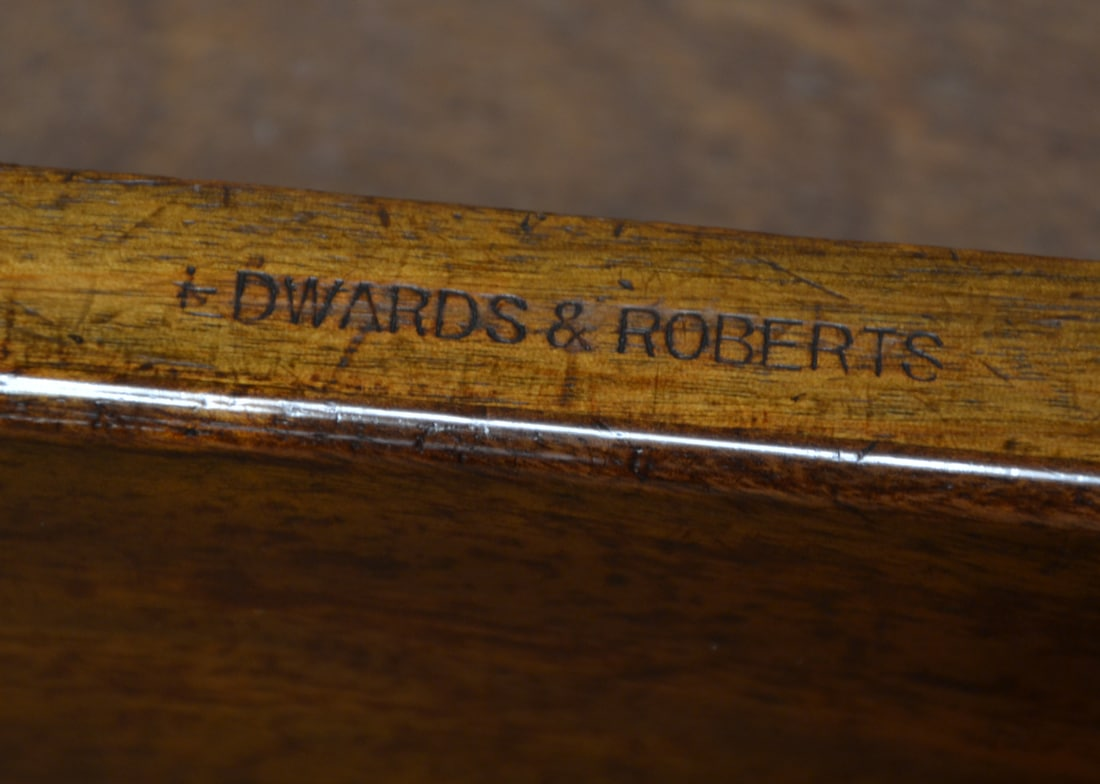 Edwards & Roberts Stamp on the drawer