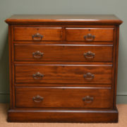 Edwardian Satinwood Antique Chest Of Drawers