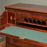 Rare High Quality Georgian Mahogany Antique Secretaire Chest of Drawers