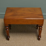 Quality Victorian Mahogany Antique Side / Coffee Table