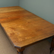 Victorian Walnut Country House Antique Extending Dining Table