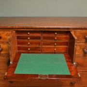 Unusual William IV Antique Scottish Secretaire Chest Of Drawers