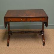 Fine Characterful Victorian Mahogany Antique Sofa Table