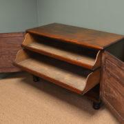 Regency Mahogany Antique Low Press Cupboard