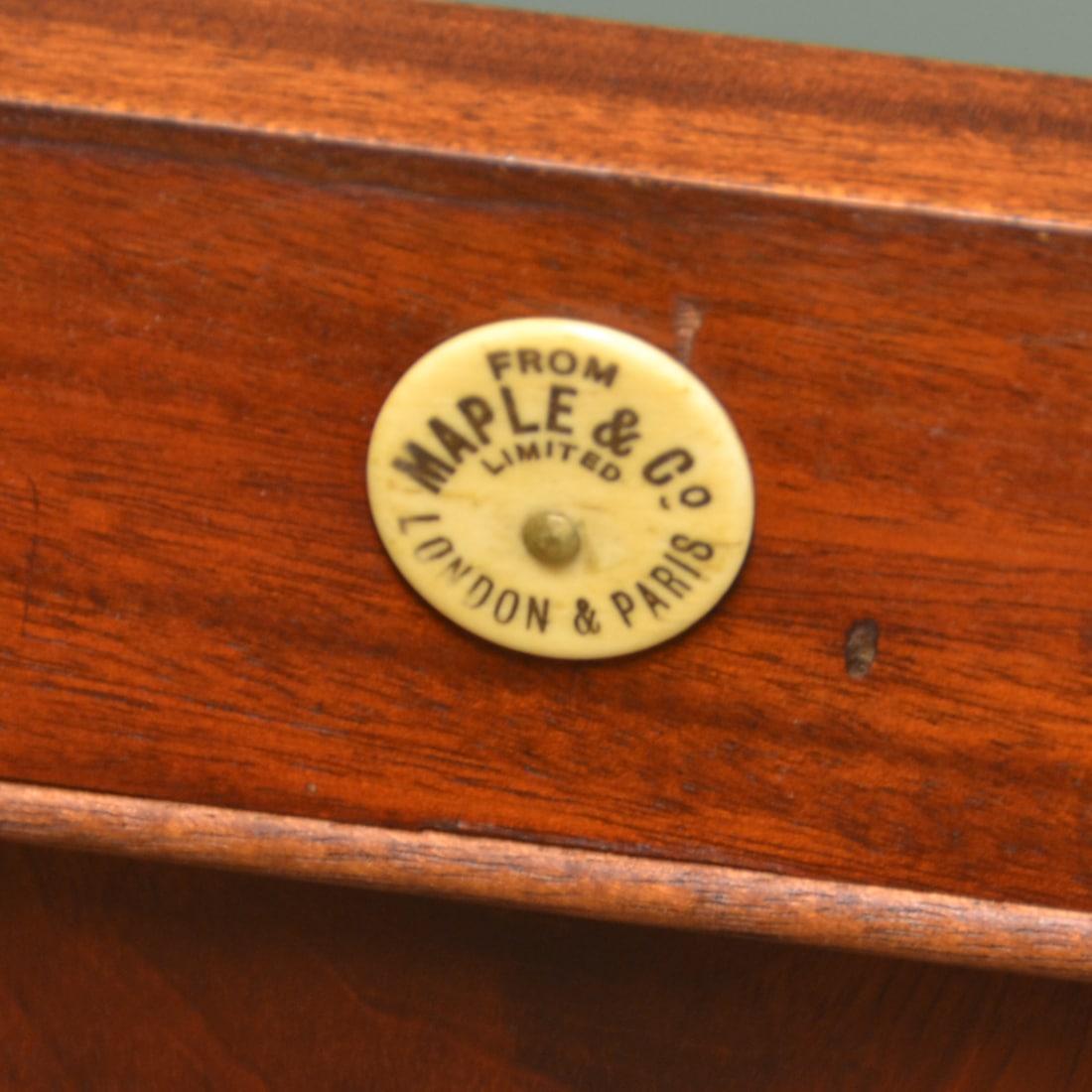 Circular Maple & Co Stamp