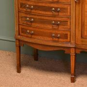 Spectacular Quality Maple & Co Edwardian Antique Music Cabinet