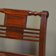 Elegant Set Of Eight Georgian Mahogany Antique Dining Chairs