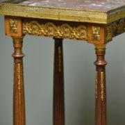 Decorative Edwardian Walnut Antique Plant / Lamp Stand