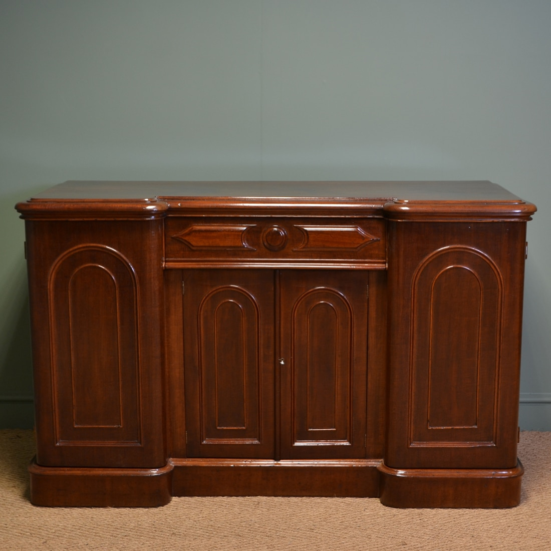 Rich Mahogany Victorian Antique Sideboard Antiques World