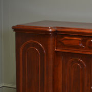 Rich Mahogany Victorian Antique Sideboard