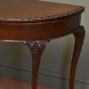 Elegant Edwardian Mahogany Antique Console / Games Table