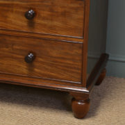 Superb Quality Regency Mahogany Antique Chest Of Drawers
